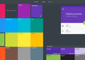 Screenshot Material Palette