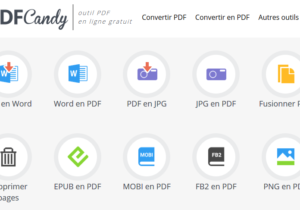 Screenshot PDF Candy
